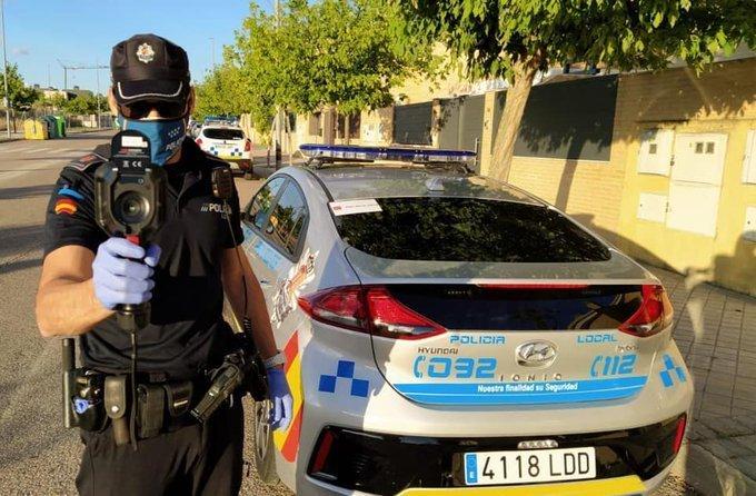 La Policía Local de Arroyomolinos cuenta ahora con dos pistolas térmicas 1