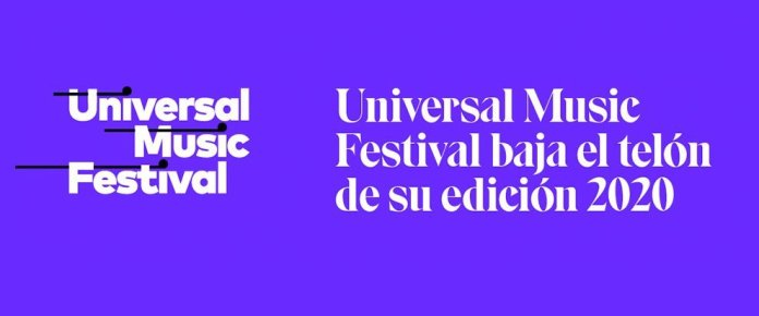 Universal Music Festival cancela su edición de 2020 1