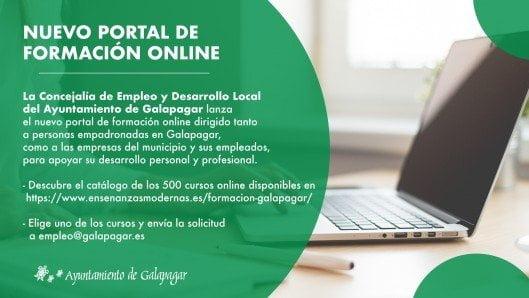 Galapagar lanza más de 500 cursos online gratuitos para vecinos y empresas del municipio 1