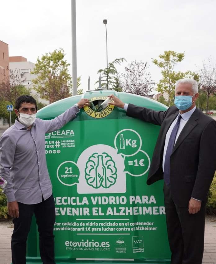 Alcobendas y Sanse apoyan la campaña solidaria de Ecovidrio en su lucha contra el Alzheimer 2
