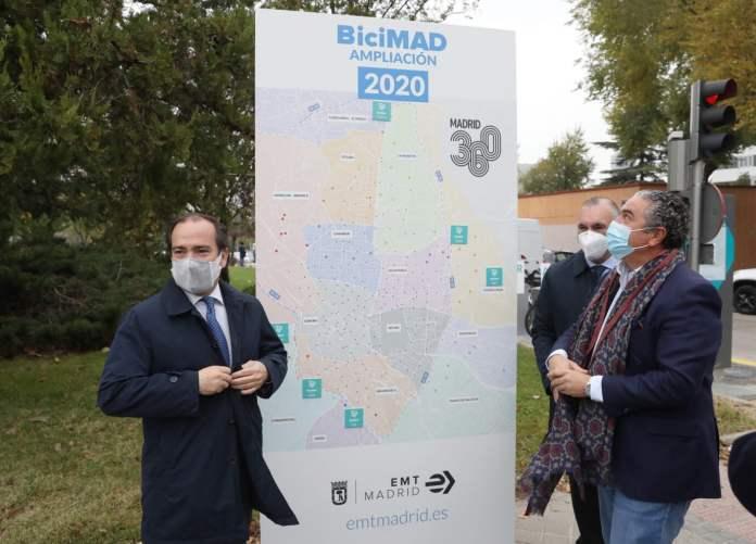 BiciMAD llega al distrito de Fuencarral-El Pardo 1