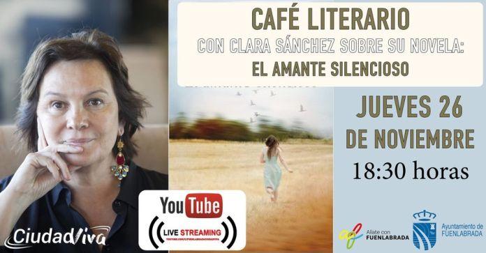 Fuenlabrada | Los 'Cafés literarios' se adaptan al formato virtual 1