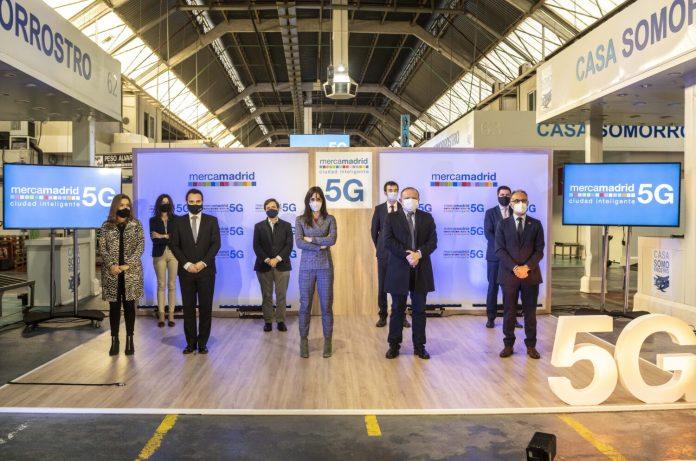 Mercamadrid inaugura el primer nodo 5G en un campo empresarial en España 2