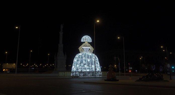La luz de la Navidad inunda Madrid 1