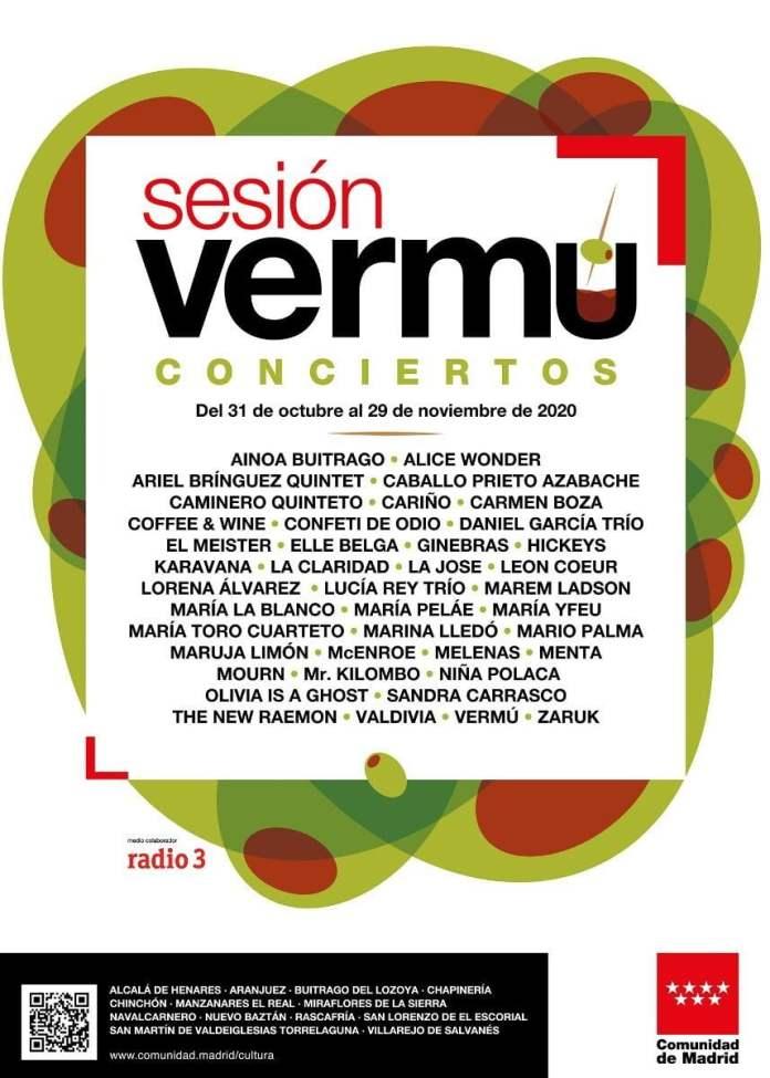 Sesión Vermú: 90 conciertos de indie, jazz, flamenco y fusión 1
