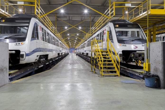 Talleres centrales de Metro de Madrid