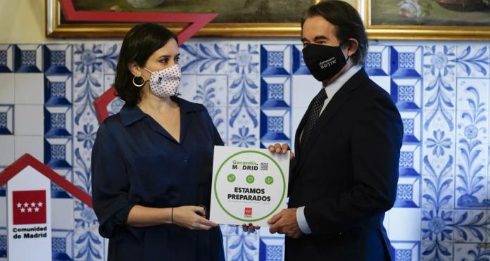 Garantía Madrid, el sello de las buenas prácticas antiCOVID-19 2