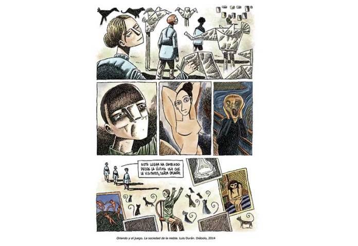 Alcobendas   El Centro de Arte acoge la exposición 'El arte en el cómic' 1