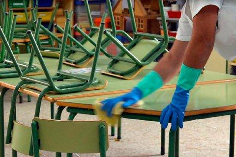 limpieza centros educativos