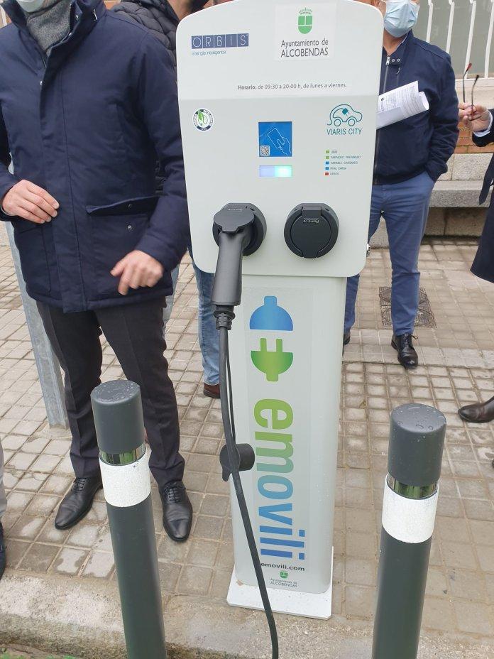 Dos nuevos puntos de recarga de vehículos eléctricos en Alcobendas 1