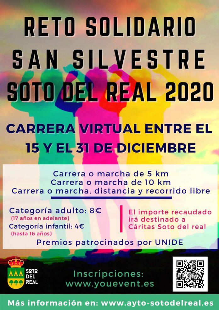 La San Silvestre 2020 de Soto del Real, en formato virtual 1
