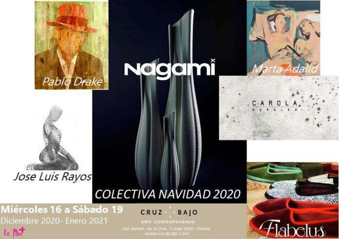 La galería de arte Cruz Bajo presenta la exposición colectiva 'Navidad 2020' 1