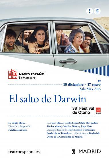La tragicomedia 'El salto de Darwin' de Sergio Blanco llega a Matadero 1