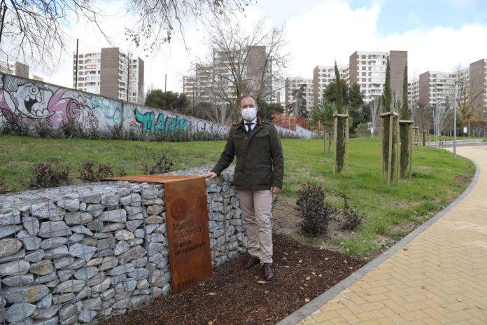 El nuevo jardín de Ribadavia abre sus puertas en el barrio del Pilar 4