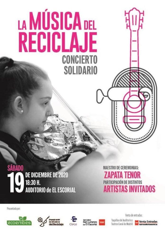 La Música del Reciclaje dará un concierto solidario en San Lorenzo de El Escorial 1