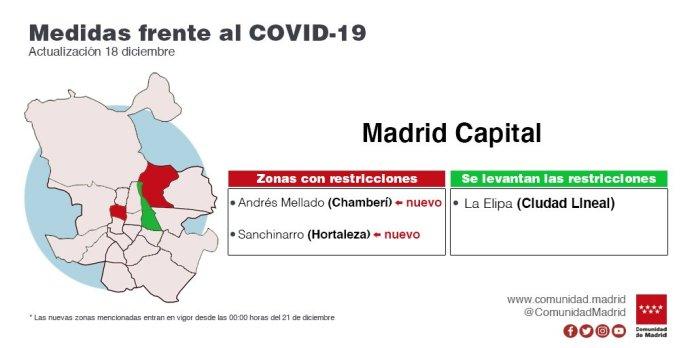 Madrid reduce el aforo de las cenas de Navidad: solo seis personas por mesa 3