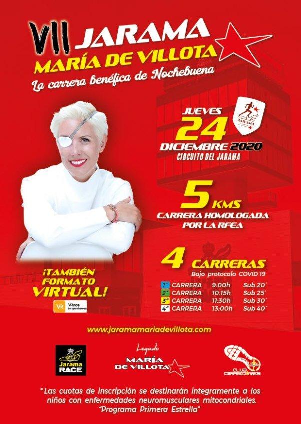 La carrera Jarama María de Villota 2020, presencial y virtual 1