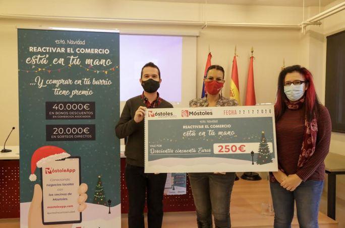 Sorteo de 80 cheques de 250 euros para reactivar el comercio local en Móstoles 1