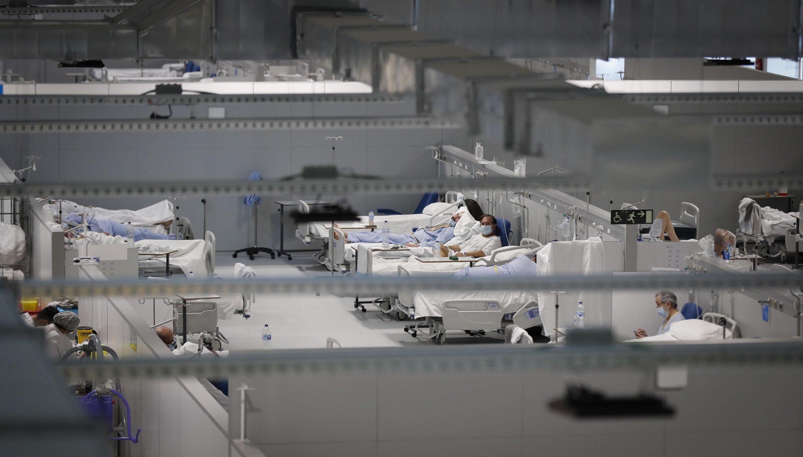 El hospital Isabel Zendal prepara 352 nuevas camas ante la tercera ola 4