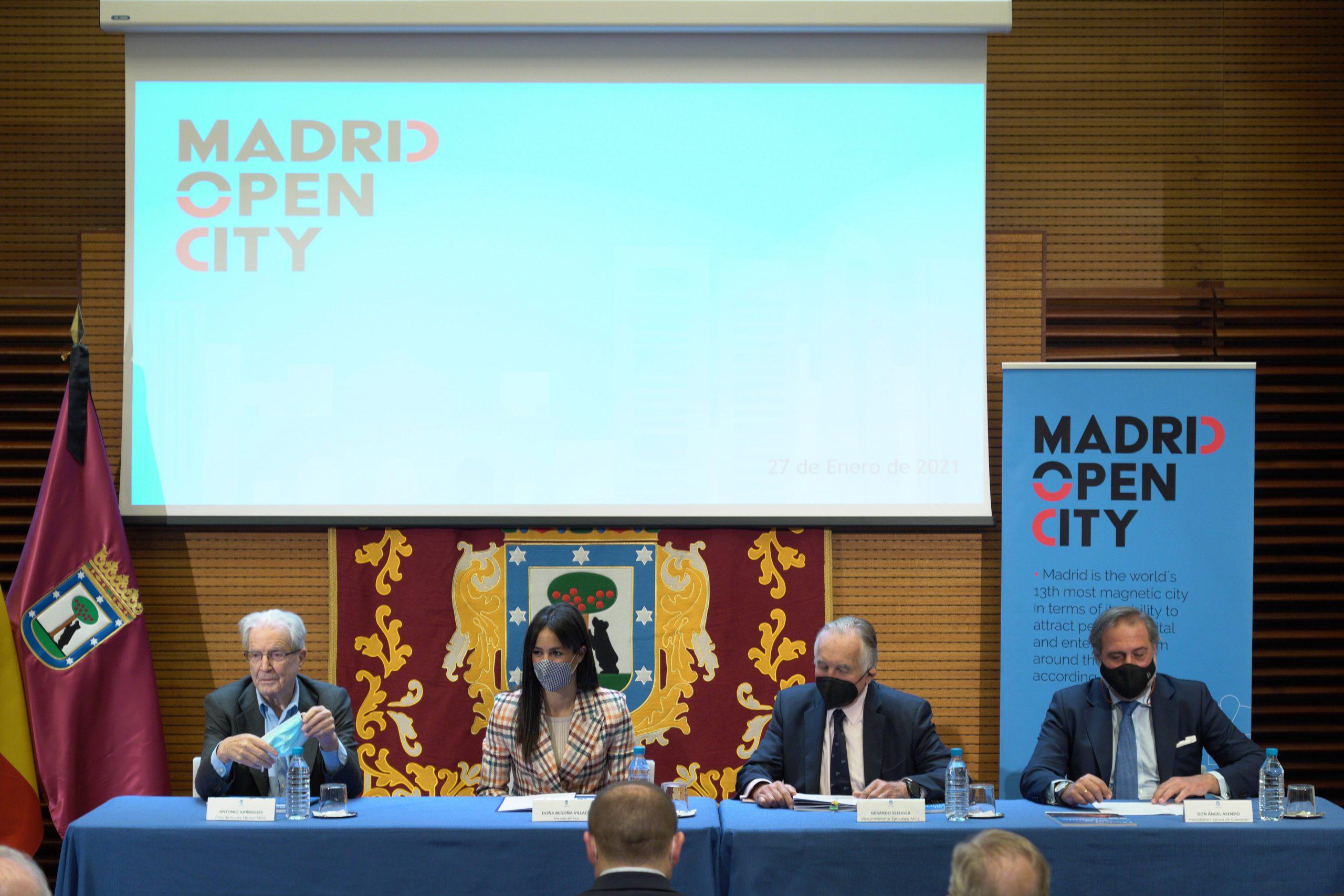 Madrid Open City: una entidad para captar inversión y estar entre las grandes capitales 1