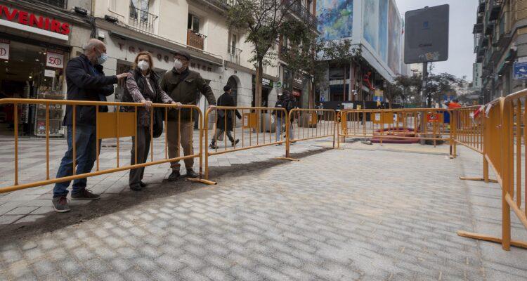 Arenal y Montera tendrán pavimento y mobiliario urbano renovados 2