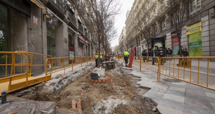 Arenal y Montera tendrán pavimento y mobiliario urbano renovados 4
