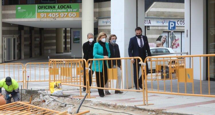 La remodelación de la calle Alcalá entre la M-30 y Quintana terminará en verano 2