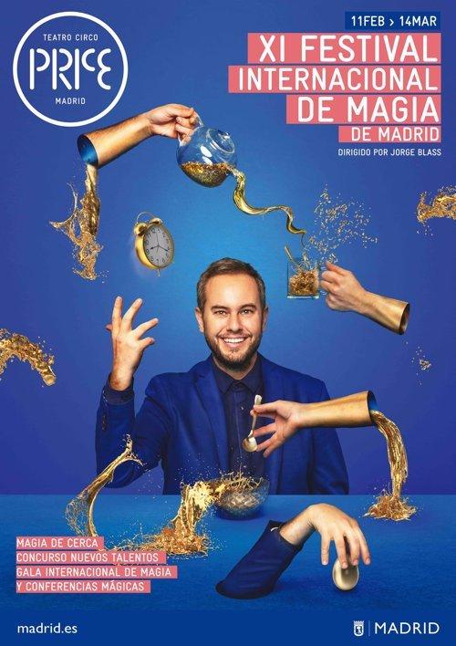 El Teatro Circo Price acoge el XI Festival Internacional de Magia de Madrid 1