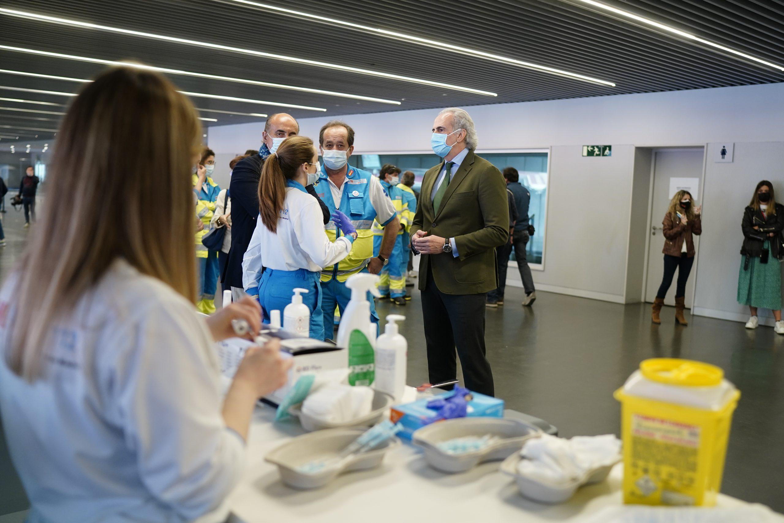 Vacunas contra la Covid-19 en Madrid: población de 60 a 65 y de 77, 78 y 79 años 2