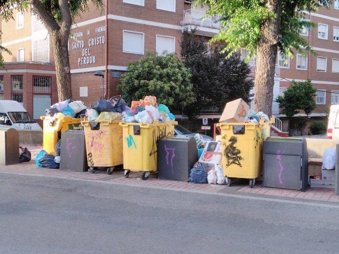 recogida basura colmenar
