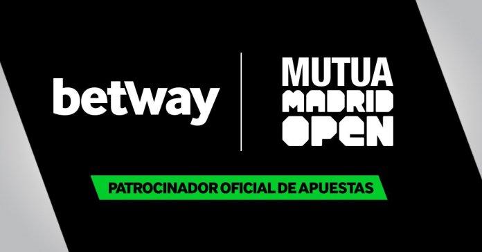 Betway patrocinará el Mutua Madrid Open 1