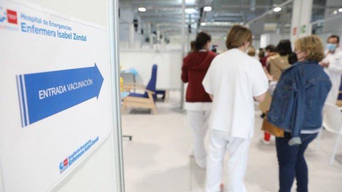 El proceso de vacunación se ralentiza en Madrid por falta de dosis 1