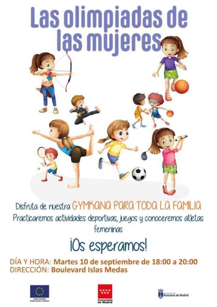 Galapagar organiza una yincana para visibilar el papel de la mujer en el deporte 1