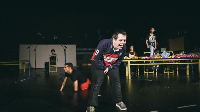 'Calígula murió. Yo no' en el Teatro María Guerrero 2