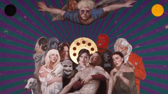 ArtMadrid convierte a Ayuso en la Virgen y a C.Tangana en Jesús 4