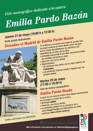 La Biblioteca Ricardo León de Galapagar rinde homenaje a Emilia Pardo Bazán 1