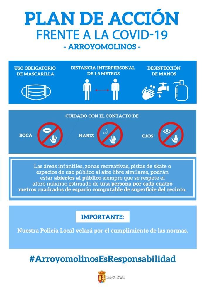 Apertura de parques y nuevas medidas en Arroyomolinos 1
