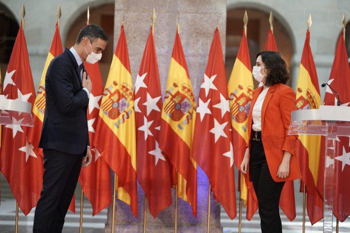 """Ayuso, tras su encuentro con Sánchez: o su futuro, """"o el de España"""" 9"""
