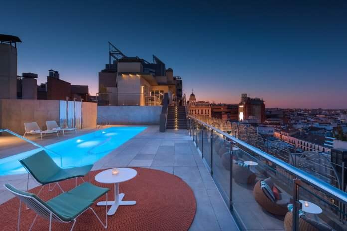 Top 10 de las terrazas con piscina en Madrid 2