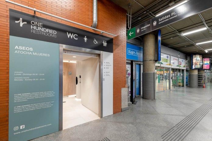 Puerta de Atocha, primera estación en albergar aseos premium 7