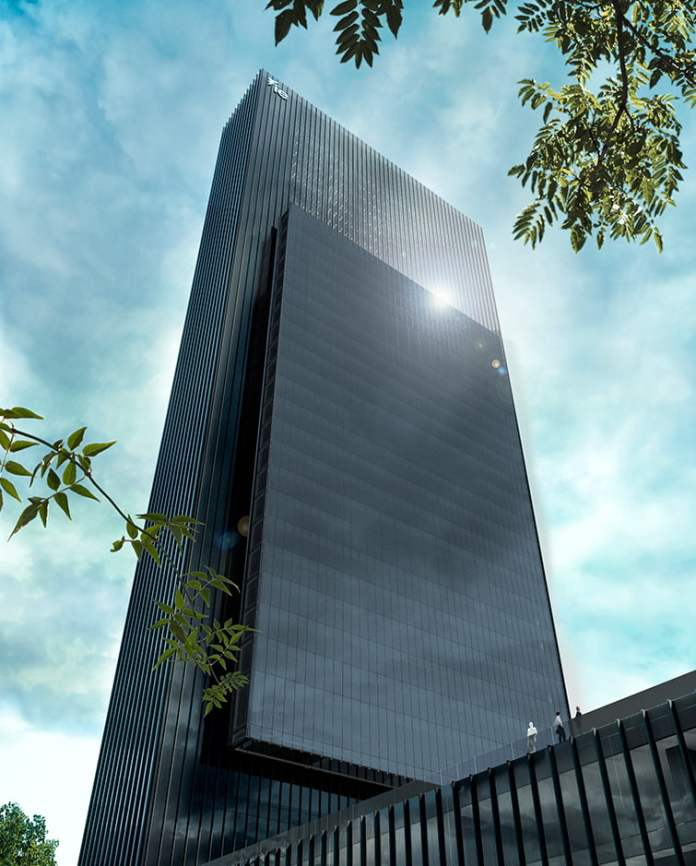 Caleido, la quinta torre, ya toca el cielo de Madrid 2