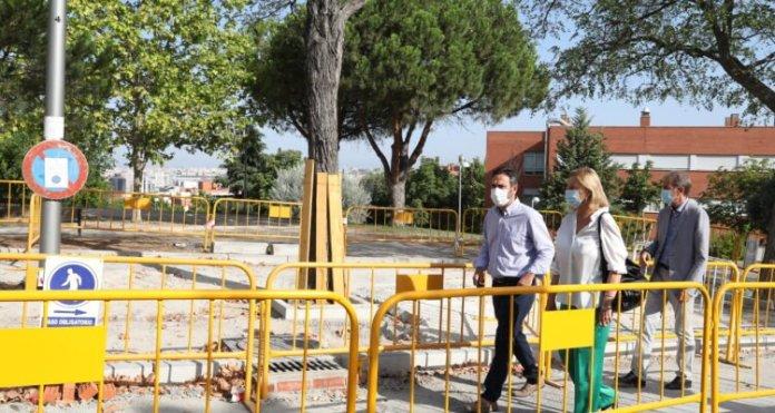 Empiezan las obras para conectar peatonalmente los miradores de Puente de Vallecas 1