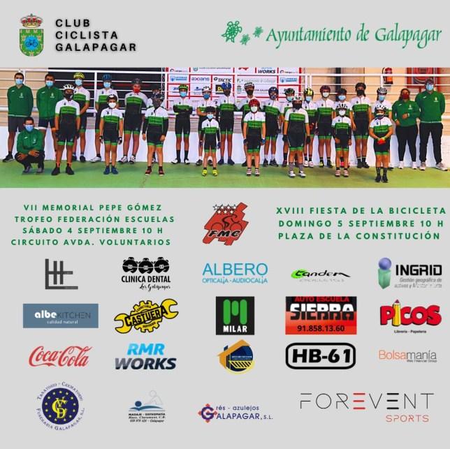 La Fiesta de la Bicicleta y el Memorial Pepe Gómez vuelven a Galapagar 1