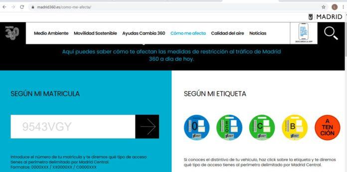 Guía para desplazarse por las Zonas de Bajas Emisiones: madrid360.es 1