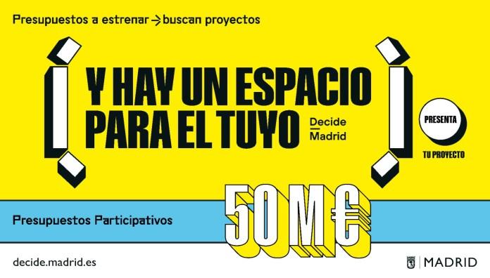 Nueva convocatoria de presupuestos participativos: los madrileños deciden 1