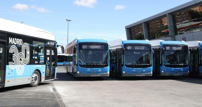 La línea 81 de la EMT da servicio solo con autobuses eléctricos BYD 1
