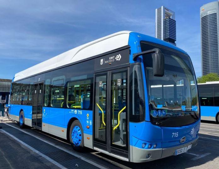 La línea 81 de la EMT da servicio solo con autobuses eléctricos BYD 2