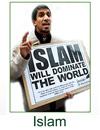 tipico islamico integralista e minaccioso