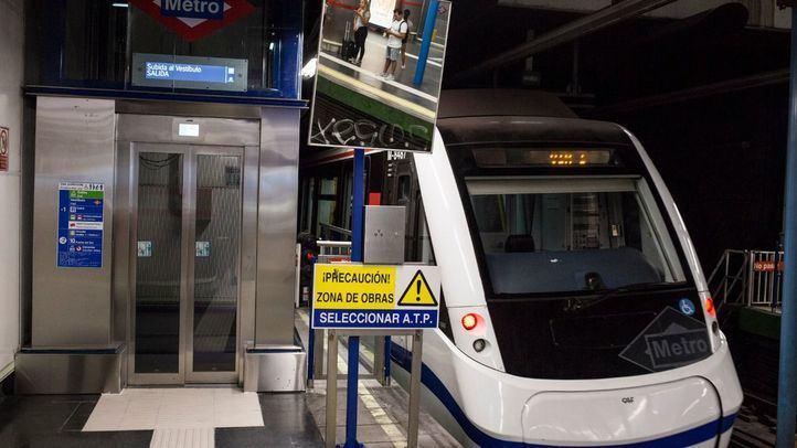 En marcha dos nuevos ascensores en la estación de Metro de Príncipe Pío