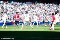 Real Madrid vs Granada in the Santiago Bernabeu